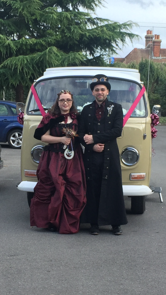 gothic-style-old-english-wedding-bride-and-groom
