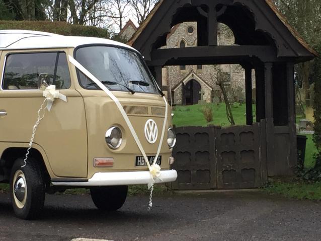 vw wedding car hampshire
