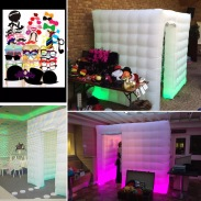 colour changing photbooth to match your theme